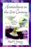 Horticulture in the 21st Century, , 1616685824