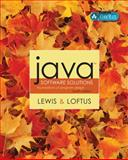 Java Software Solutions : Foundations of Program Design, Lewis, John, 0321245830