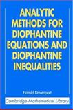 Analytic Methods for Diophantine Equations and Diophantine Inequalities, Davenport, Harold, 0521605830