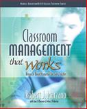 Classroom Management That Works : Research-Based Strategies for Every Teacher, Marzano, Robert J., 013503583X