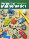 Progress in Mathematics, Spiral Review Practice Book, Gr. 3, Sadlier-Oxford, 0821525832