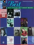 The Best in Country Sheet Music, , 157623584X