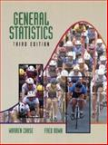 General Statistics, Chase, Warren and Bown, Fred, 0471055840