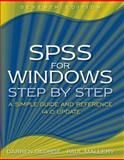 SPSS for Windows Step-by-Step, Darren George and Paul Mallery, 0205515851