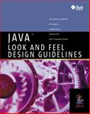 Java Look and Feel Design Guidelines, Javasoft Staff, 0201615851