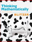 Thinking Mathematically, Blitzer, Robert F., 0321645855