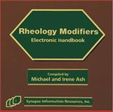 Rheology Modifiers Electronic Handbook-2005, Michael and Irene Ash, 1890595853