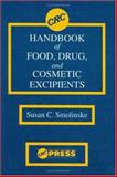 CRC Handbook of Food, Drug, and Cosmetic Excipients, Smolinske, Susan C., 084933585X