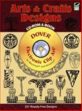 Arts and Crafts Designs, Marty Noble, 0486995852