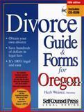Divorce Guide for Oregon, Herb Weisser, 1551805855