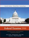 Prentice Hall's Federal Taxation 2016 Corporations, Partnerships, Estates and Trusts, Pope, Thomas R. and Rupert, Timothy J., 0134105850