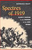 Spectres Of 1919 : Class and Nation in the Making of the New Negro, Foley, Barbara, 0252075854