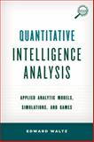 Quantitative Intelligence Analcb, Edward Waltz, 1442235861