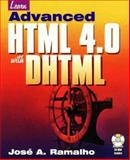 Learn Advanced HTML 4.0, Ramalho, Jose, 1556225865