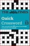 Times 2 Crossword Book 13, Times Mind Games Staff, 0007305869
