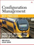 Configuration Management Best Practices 9780321685865