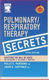 Pulmonary/Respiratory Therapy Secrets, , 0323035868