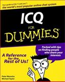 ICQ for Dummies, Peter Weverka, 0764505866