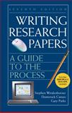 Writing Research Papers with 2009 MLA and 2010 Updates : A Guide to the Process, Weidenborner, Stephen and Caruso, Domenick, 0312675860