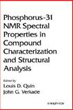 Phosphorus-31 NMR Spectral Properties in Compound Characterization and Structural Analysis, , 0471185876