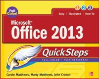 Microsoft® Office 2013, Carole Matthews and Marty Matthews, 0071805877