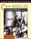 C++ Distilled : A Concise ANSI/ISO Reference, Pohl, Ira, 0201695871
