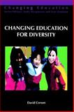 Changing Education for Diversity, Corson, David, 0335195873