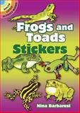 Frogs and Toads Stickers, Nina Barbaresi, 0486295877