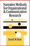 Narrative Methods for Organizational and Communication Research 9780761965879