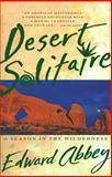 Desert Solitaire, Edward Abbey, 0671695886