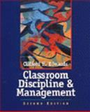 Classroom Discipline 9780471365884