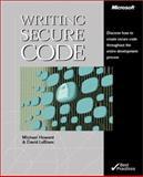 Writing Secure Code, Howard, Michael and LeBlanc, David, 0735615888