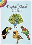 Tropical Birds Stickers, Nina Barbaresi, 0486295885