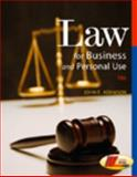 Law for Business and Personal Use, Adamson, John E., 0538445882