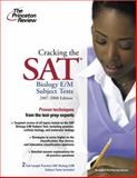 Cracking the SAT Biology E/M Subject Tests, Judene Wright and Princeton Review Staff, 0375765883