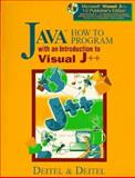 Java How to Program with an Introduction to Visual J++, Deitel, Harvey M., 0136325890