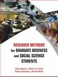 Research Methods for Graduate Business and Social Science Students, Raeside, Robert and White, David, 0761935894