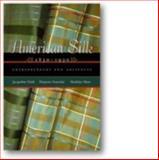 American Silk, 1830-1930, Jacqueline Field and Marjorie Senechal, 0896725898