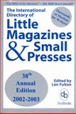 International Directory of Little Magazines and Small Presses, , 0916685896