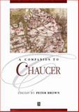 A Companion to Chaucer 9780631235903