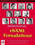 EbXML Foundations, Chappell, David A. and Chopra, Vivek, 1861005903