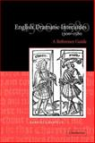 English Dramatic Interludes, 1300-1580 : A Reference Guide, Grantley, Darryll, 0521035910