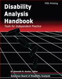 Disability Analysis Handbook : Tools for Independent Practice, American Board of Medical Psychotherapists Staff, 0757515916