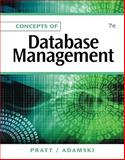 Concepts of Database Management, Pratt, Philip J. and Adamski, Joseph J., 1111825912