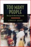Too Many People, Lindsey Grant, 0929765915
