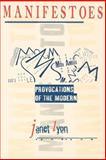 Manifestoes, Janet Lyon, 0801485916