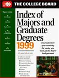 The Index of Majors and Graduate Degrees, College Board Staff, 0874475929