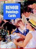 Six Renoir Paintings Cards, Pierre-Auguste Renoir, 0486295923