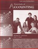 Essentials of Accounting, Study Guide / Working Papers, Lawrence, Michael and Ryan, Joan, 0759395926