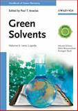 Green Solvents, Walter Leitner and Philip G. Jessop, 3527325921